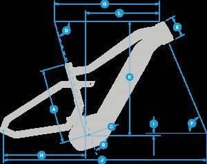 Haibike Geometry FullSeven LT 8.0